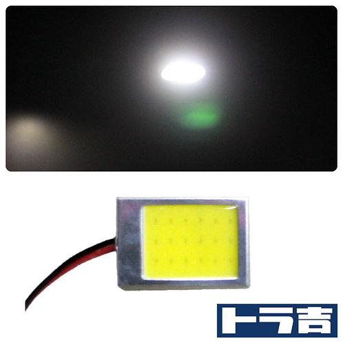 トラ吉 LEDルームランプ COBタイプ ホワイト 27×22