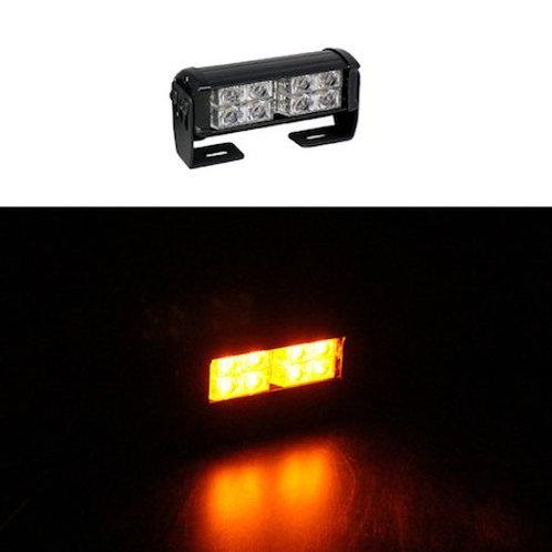 LED パトライト 回転灯 片面 2段式【アンバー】