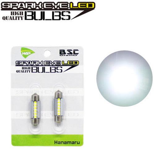 スパークアイLEDバルブ ルームランプ ヒューズ管タイプ ホワイト 36mm