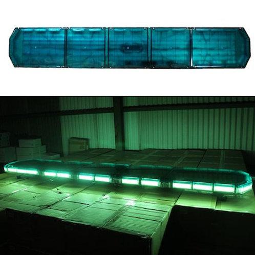 全長180cm LED 回転灯 パトライト ラウンドタイプ【グリーン】