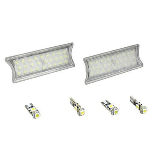 LEDルームランプセット ホワイト BMW 5,7シリーズ(E60,E65)用 LEDユニットとT10のセット!