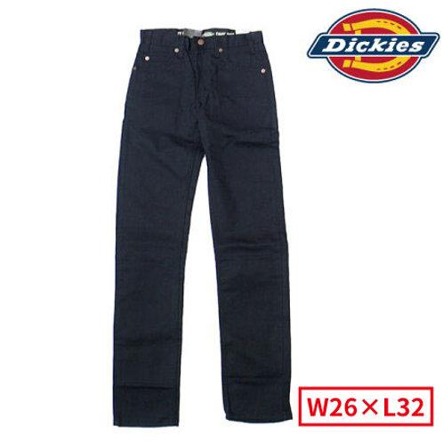 Dickies WP819 BK(ブラック) ディッキーズ テーパードパンツ W26×L32