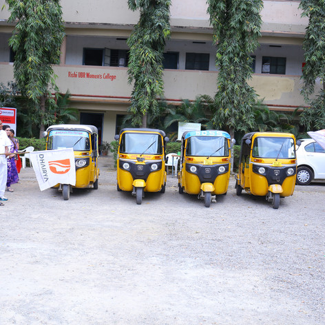 Pilot batch drivers flag off