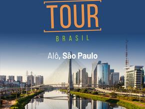 Chegamos a São Paulo para apresentar a nova versão do Up-Tracks!
