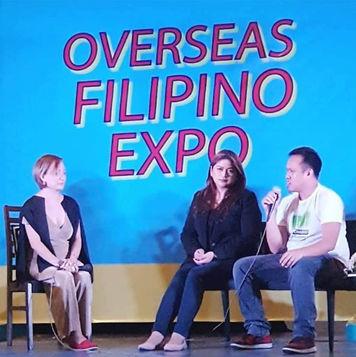Overseas Filipino Expo- Speaker