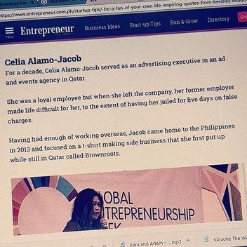 Entrepreneur Magazine feature article.