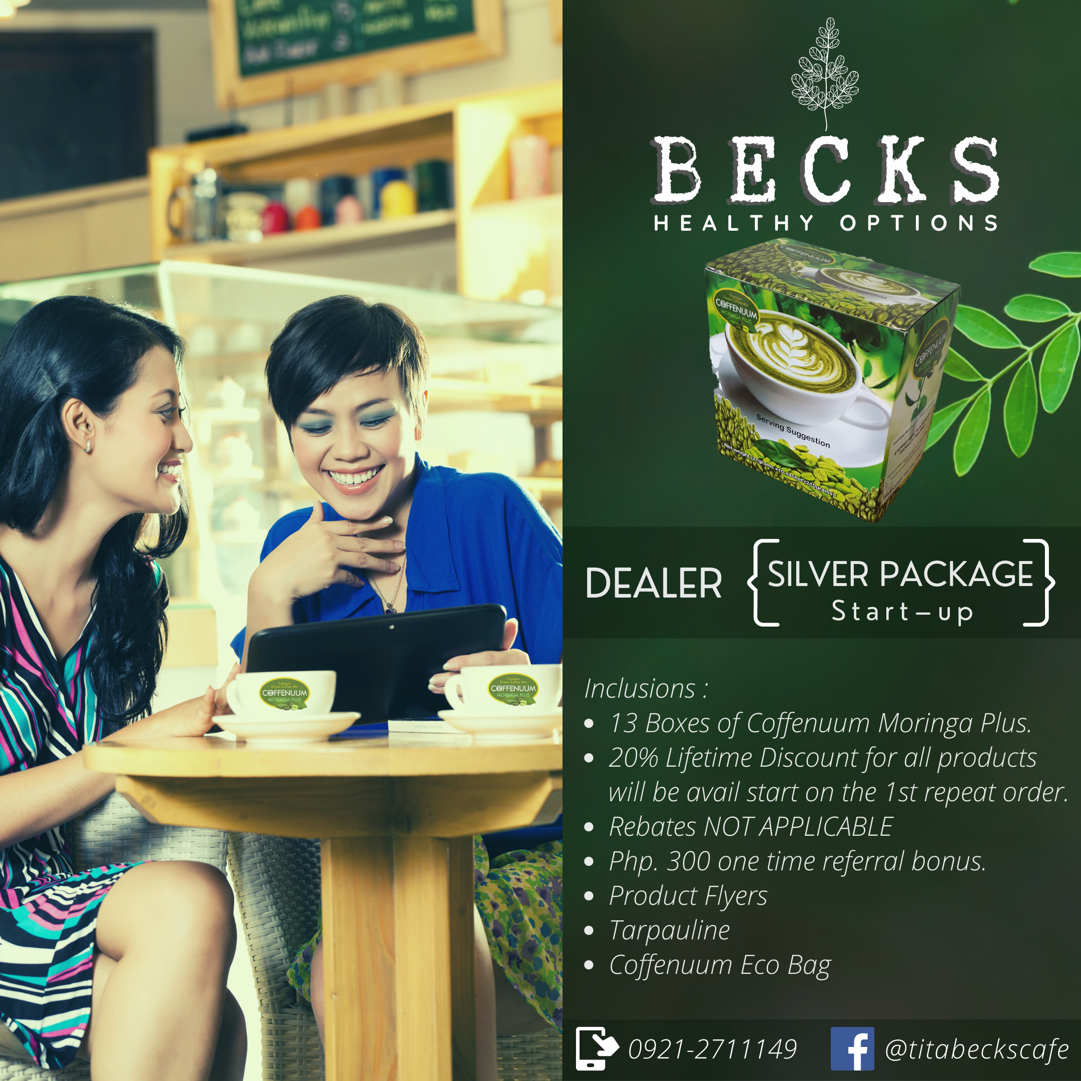 Becks Retail Ads Silver Package