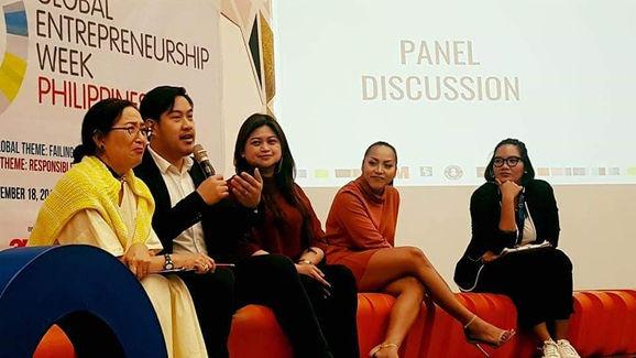 Guest Speaker for Global Entrepreneurship  Week