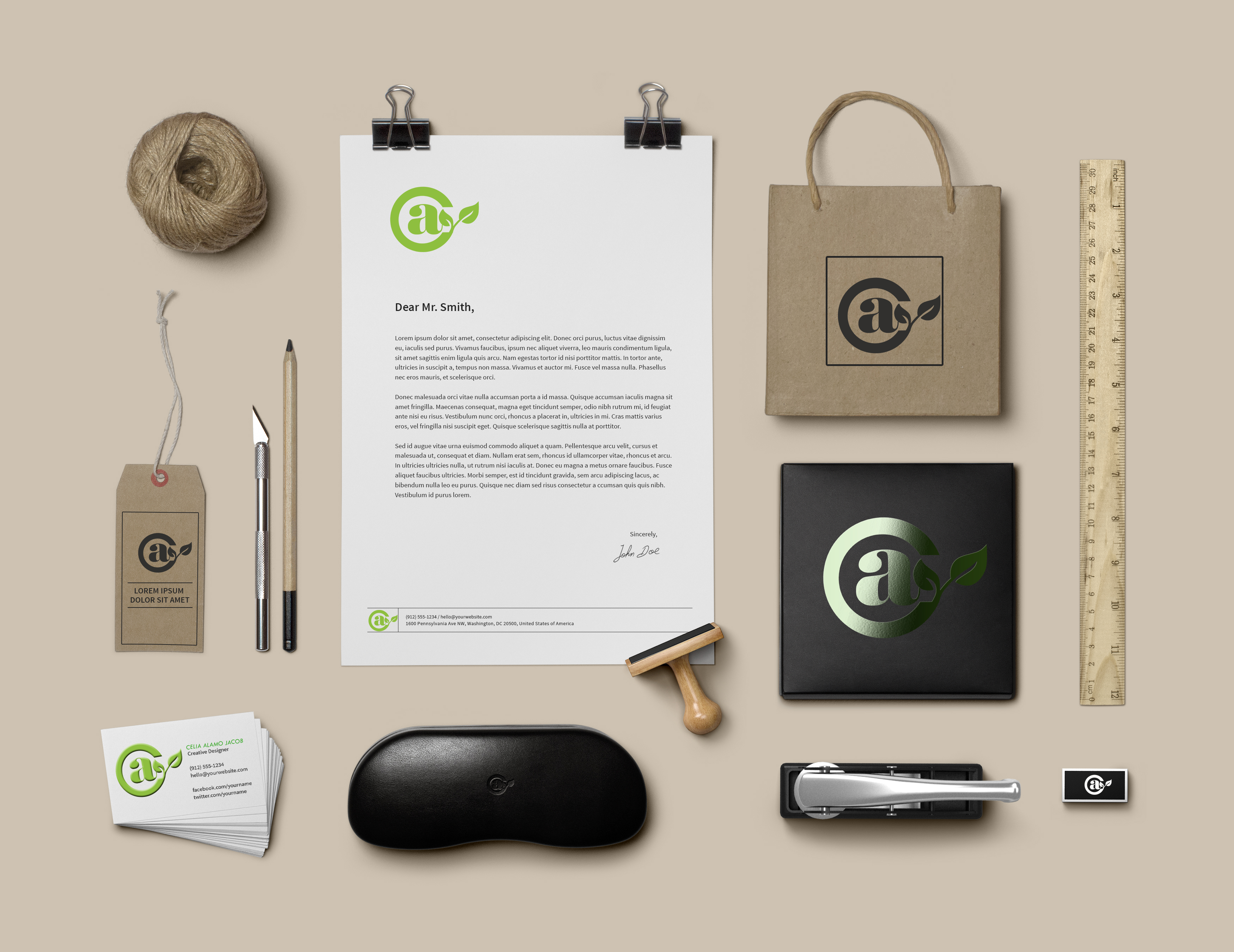 Branding Identity CAJ