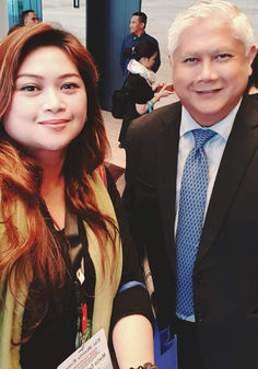 """with The Manila Times president Dante """"Klink"""" Ang"""