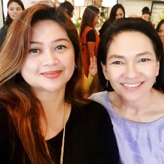 With Sen. Hontiveros at the Cartier Women Founders Event
