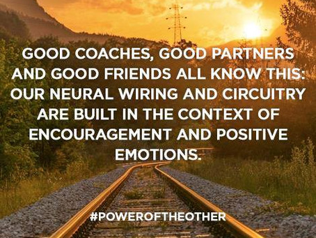 why we need coaches in our lives...