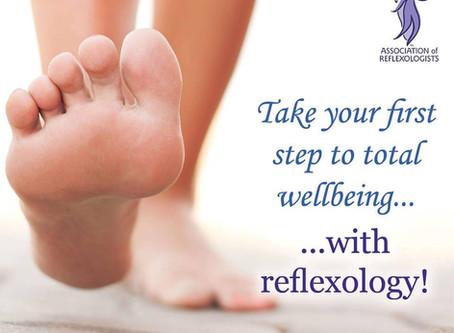 Reflexology …more than a foot rub?  Most definitely!