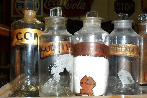 Apothecary Medicine Bottle