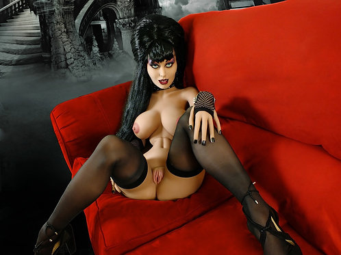 Vampire Sex Doll Anal Fetish Gothic Pussy Oral Fat Tits Ass Fuck Doll