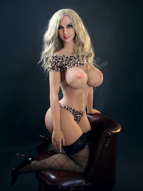 "Ultimate MILF Sex Doll, Jelly Ass, Big Tits: Hilary Muff 163cm (5'3"")"