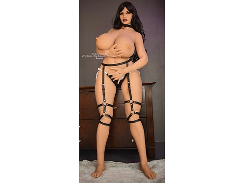 "Dominatrix Sex Doll with Jelly Ass, Huge Tits: Roxanna 161cm (5'3"")"
