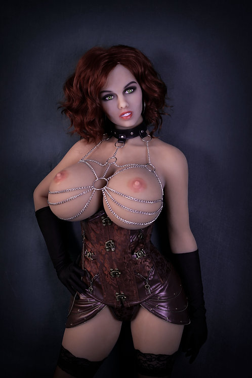 "5'6"" (170cm) Real Life Sexy Giant Tits, Fat Ass Steampunk Sex Doll: Irina"