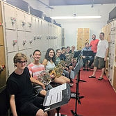 Mesa Community College Band Camp horn class