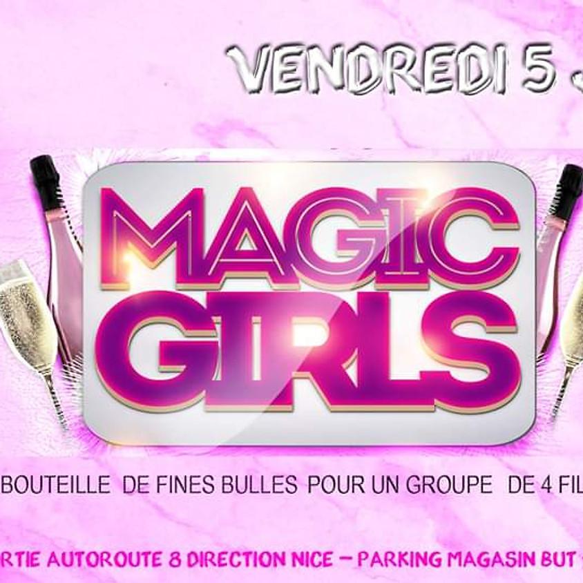 Magic GIRLS AU QG