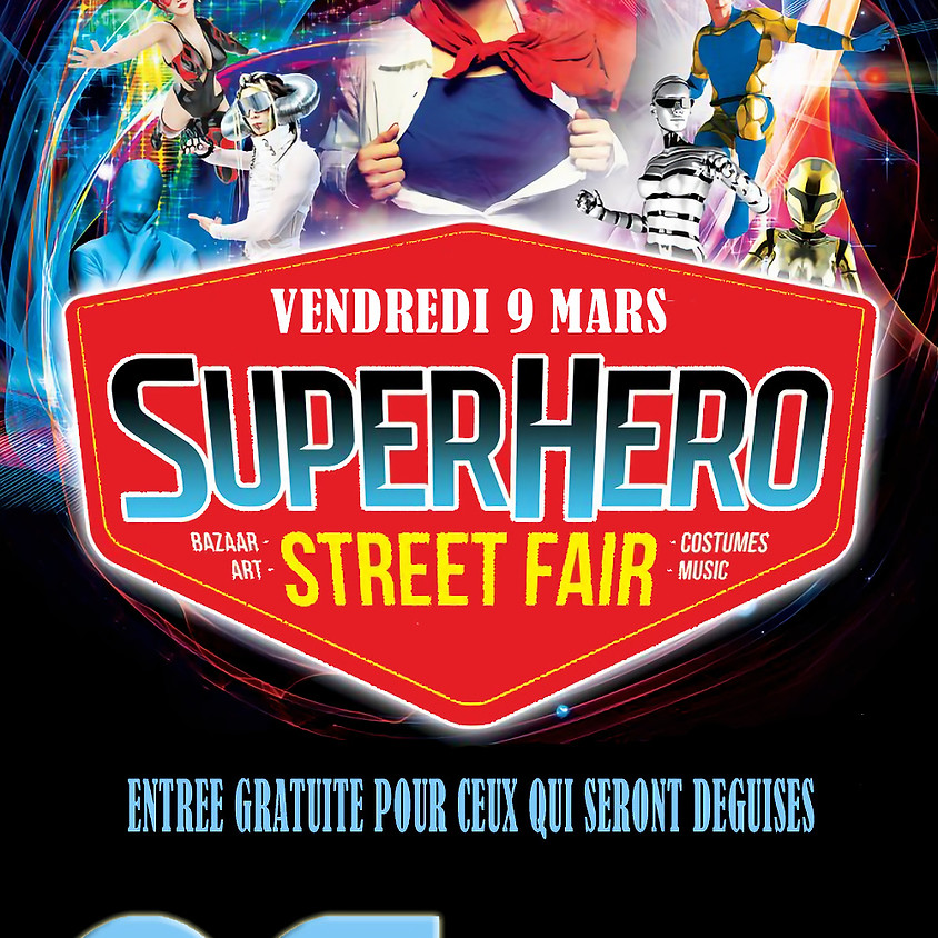 SUPERS HEROES PARTY