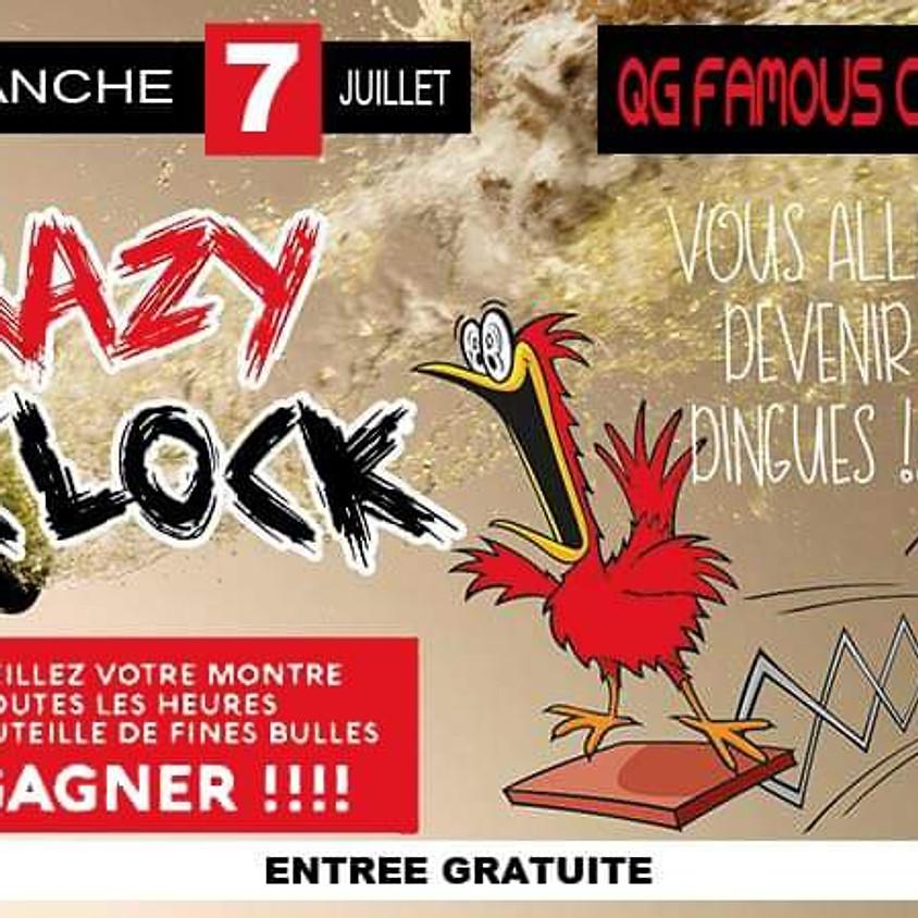 Crazy O clock