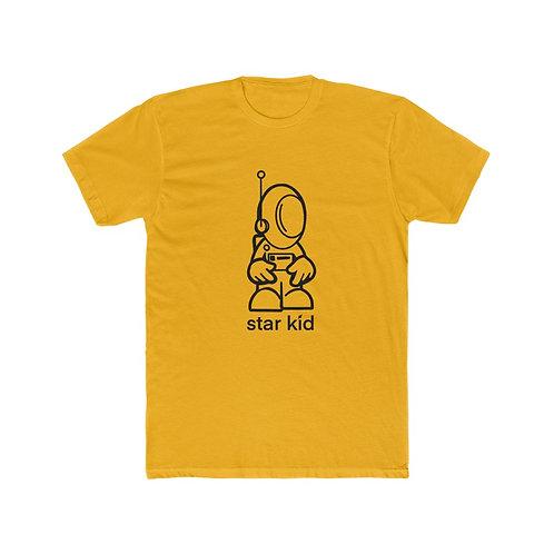 Star Kid Black Outline