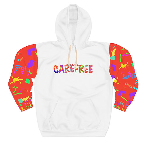 Carefree Abstract hoody