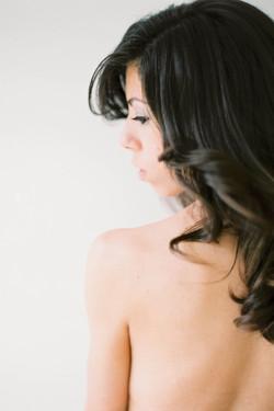 Boudoir Hair and Makeup