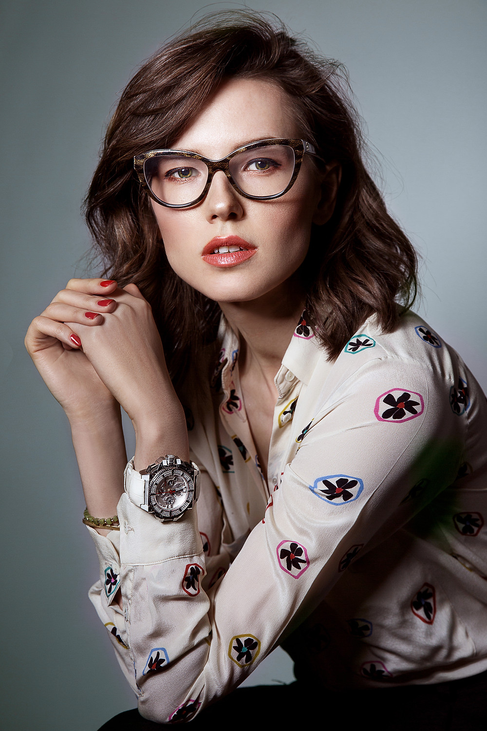 Reading Glasses Ad | On Location Glam