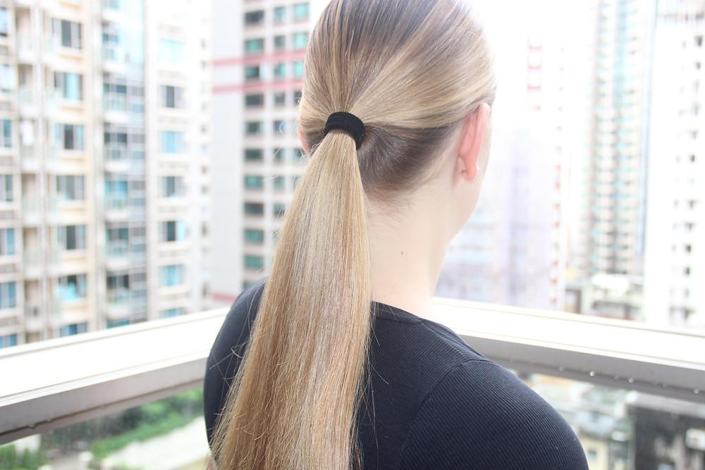 Sleek Ponytail in Hong Kong