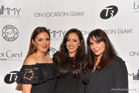 ON LOCATION GLAM'S LA LAUNCH - RED CARPET