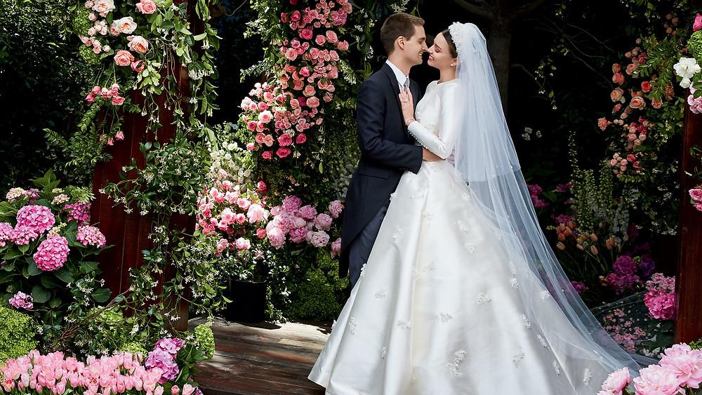 Miranda Kerr's Wedding to Evan Spiegel