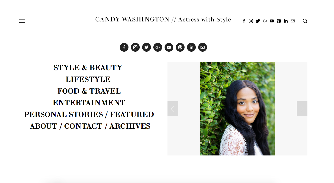Candy Washington | January 2018