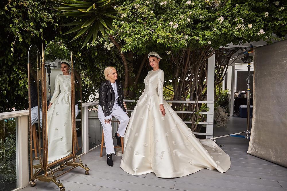 Grace Kelly Inspired Bridal Glam