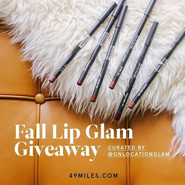 Makeup Giveaway | On Location Glam | 49Miles.com