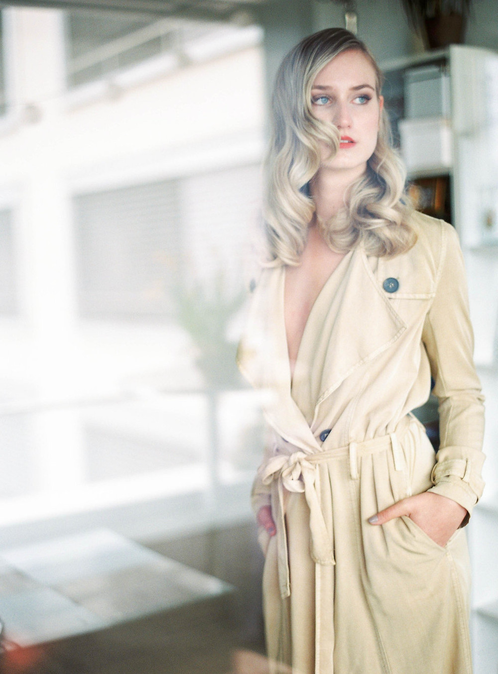 Blonde Babe Glam