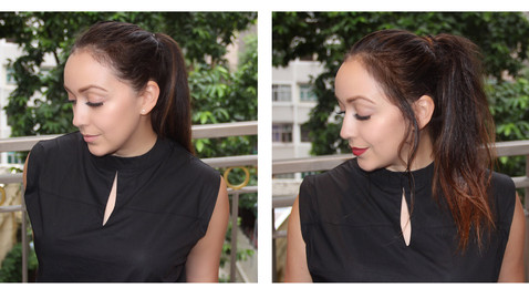 DESK TO DUSK: GLAM IN TWO MINUTES