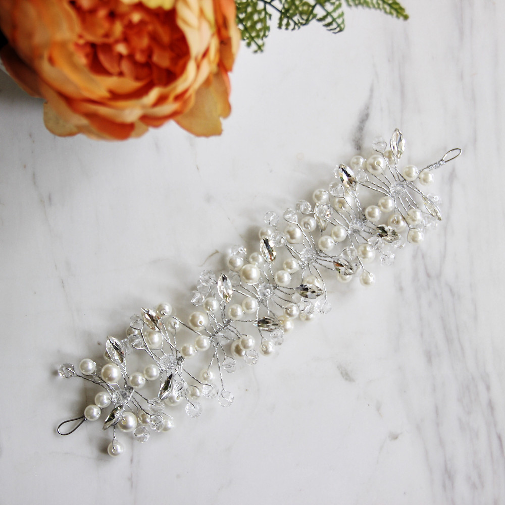 Wedding Hair Pearls