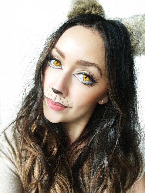 Lion-ess Makeup Look