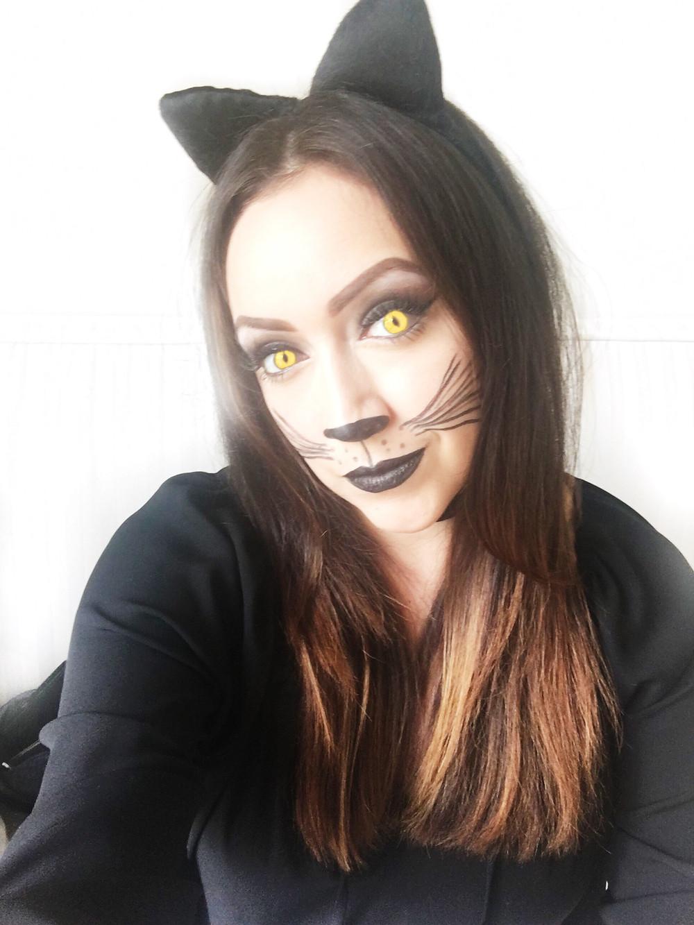 Black Cat Makeup