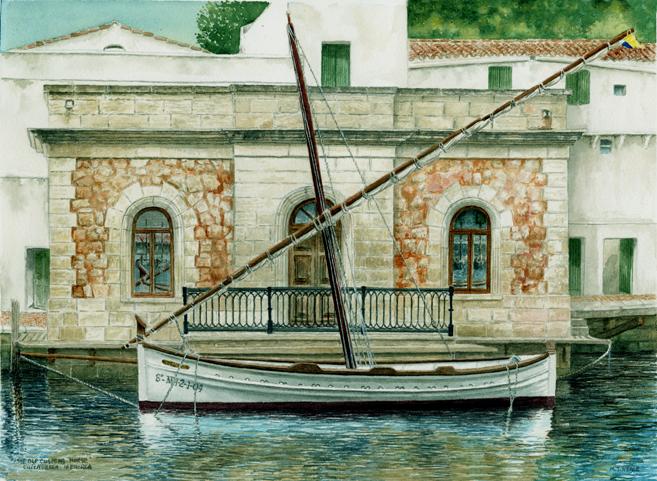 The Old Customs House, Cuitadella, Menorca