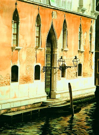 Sunlit Facade-Venice