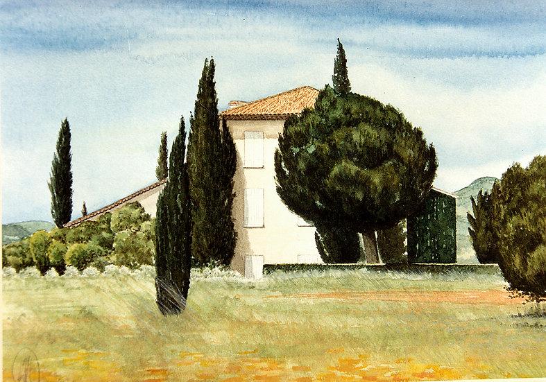La Blanc Maison, South of France.
