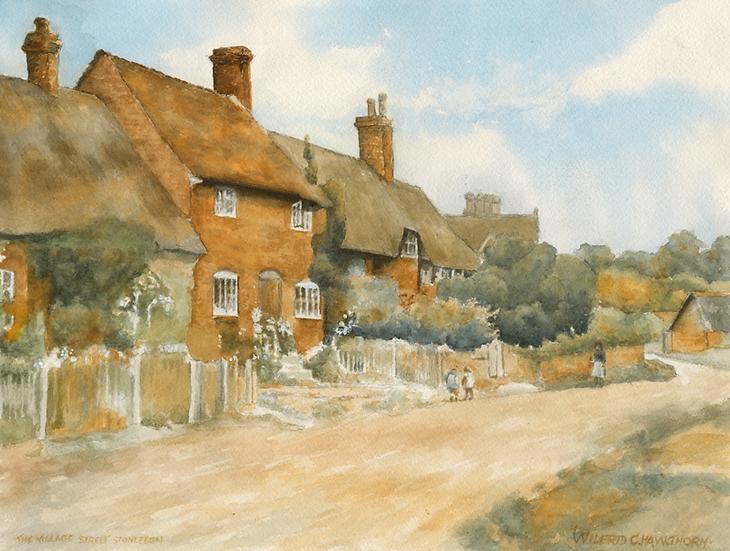Village St. Stonleigh, (after Wilfred C. Hawthorn.)