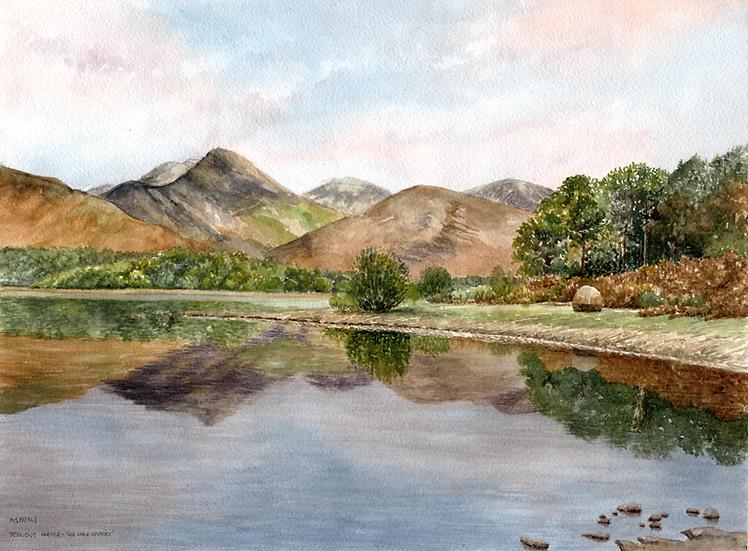 Derwent water 2, the Lake District.