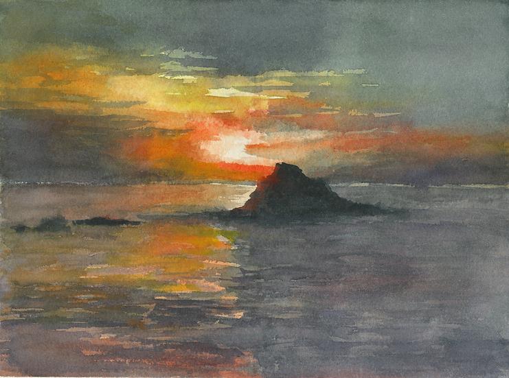 Sunset Cala Torta 2, Menorca.