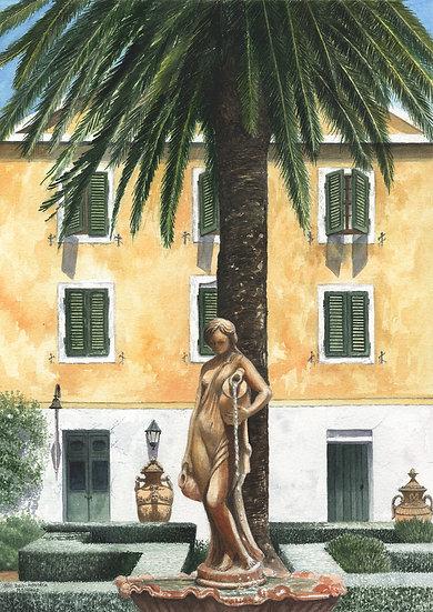 Statue Bini Suis Gardens-Menorca.