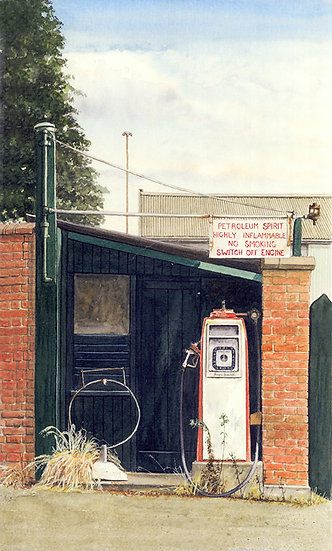 Old Petrol Pump - Kersey - Suffolk