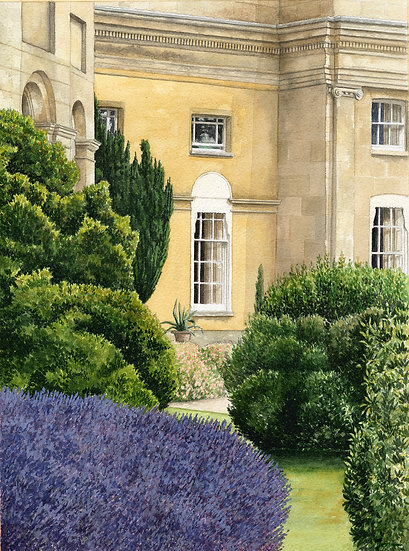 Gardens-Ikworth House.